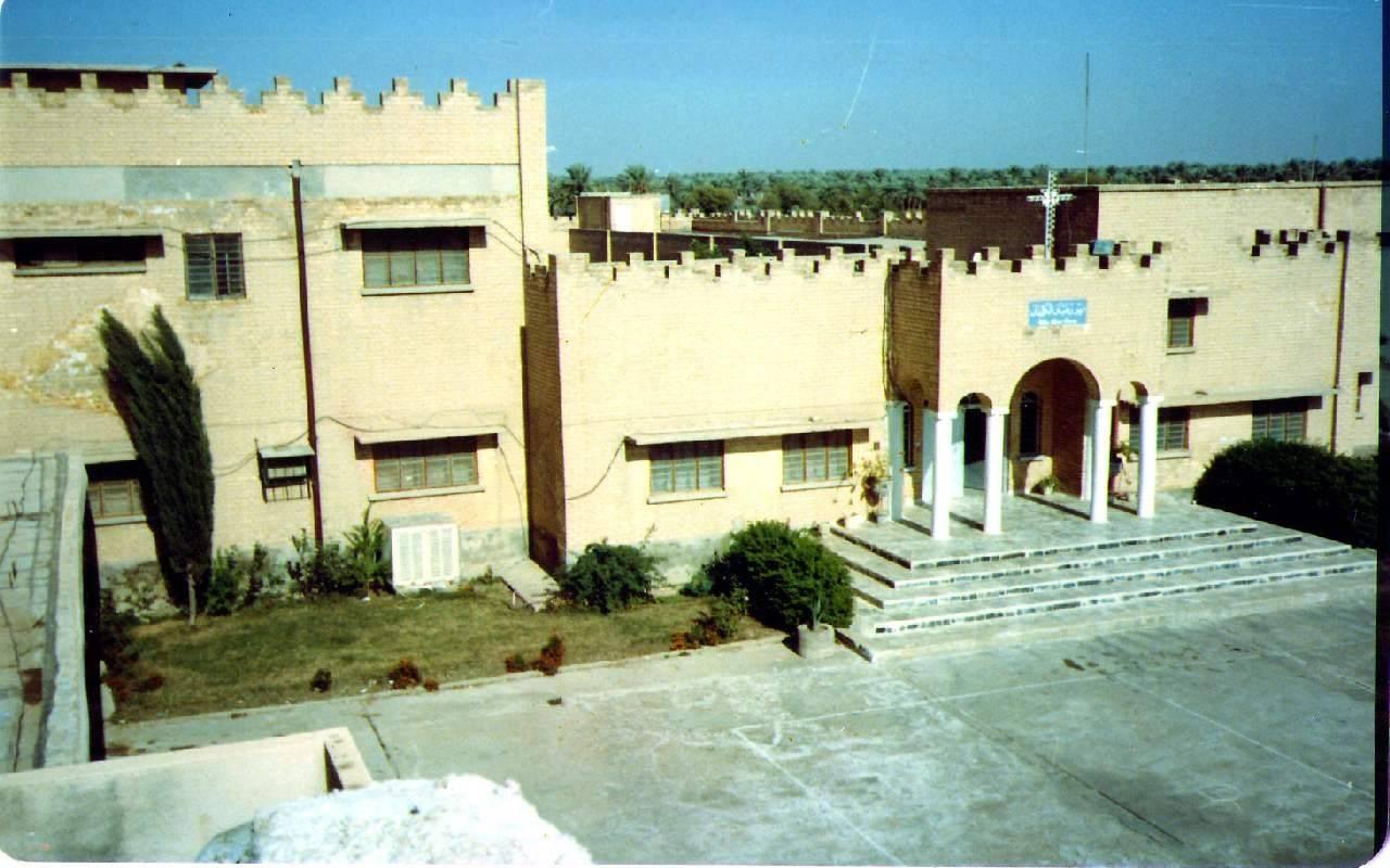 صورة قديمة لبناية دير مار انطونيوس - بغداد
